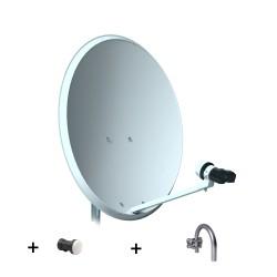 KIT-80p Antena 80cm + LNB + Soprte U